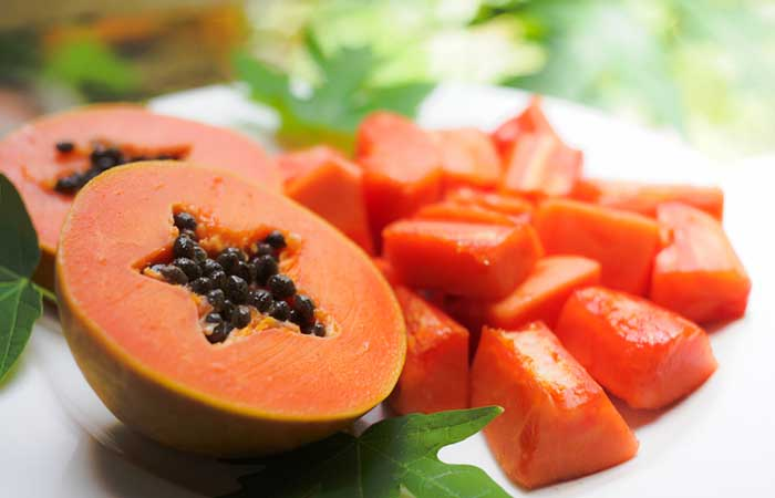 papaya face mask 2