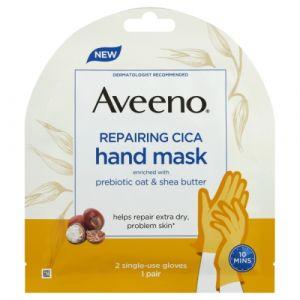 Aveeno Repairing Cica Hand Mask - Prebiotic Oat & Shea Butter