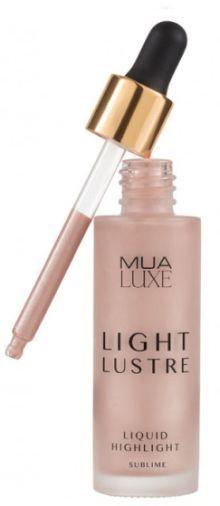 MUA Luxe Light Lustre Liquid Highlight - Sublime