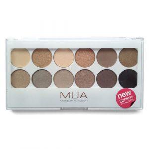 MUA Eyeshadow 12 Shade Palette - Undress Me Too