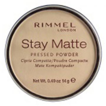 Rimmel Stay Matt Pressed Powder - Transparent - 034-001 - 3607345064505