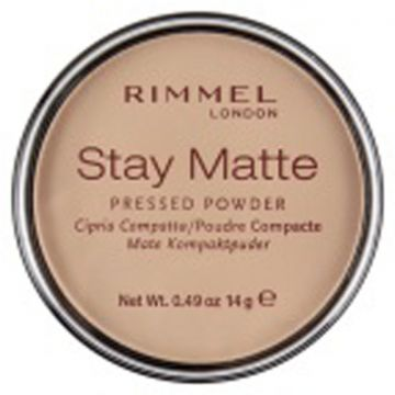 Rimmel Stay Matt Pressed Powder - Pink Blossom - 034-002 - 3607345064512