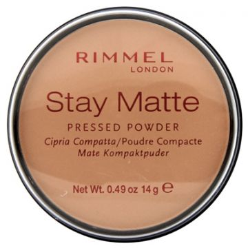 Rimmel Stay Matt Pressed Powder - Sandstorm - 034-004 - 3607345064536