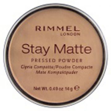 Rimmel Stay Matt Pressed Powder - Silky Beige - 034-005 - 3607345064543