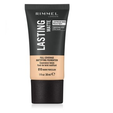 Rimmel Lasting Finish Matte Foundation 010 Porcelain