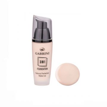 Gabrini 3 In 1 Foundation 4.5ml - 01 - 10-41-00001