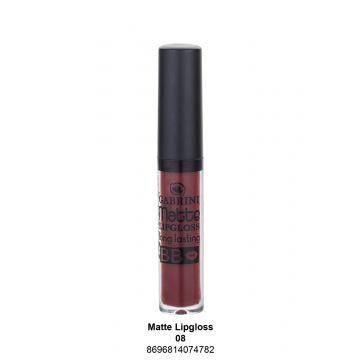 Gabrini Matte Lipgloss # 08 -A - 6ml - 10-07-00002