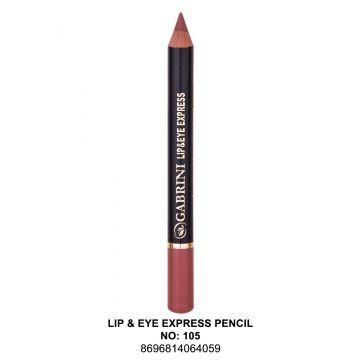 Gabrini Express Pencil 1 # 105 - 3.5 ml - 10-13-00004