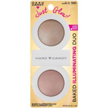 Hard Candy Just Glow! Baked Illuminating Powder Duo - 1063 Candle Lit