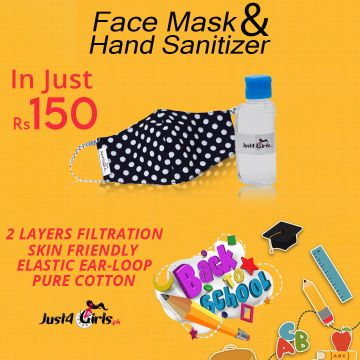 Face Mask & Hand Sanitizer - J4G