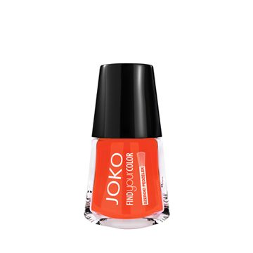 JOKO Find Your Color Nail Polish - 109 Spicy Orange - NJLA40019-B