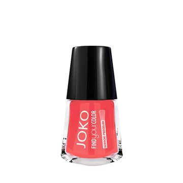 JOKO Find Your Color Nail Polish - 110 Paradise Coral Mat - NJLA40021-B