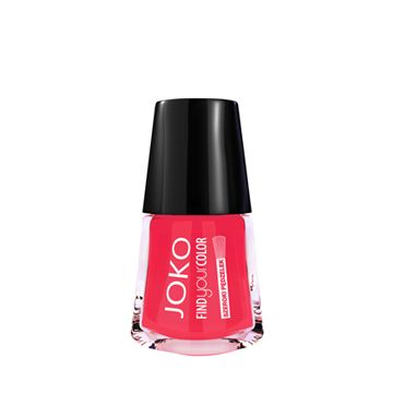 JOKO Find Your Color Nail Polish - 111 Coral Charm - NJLA40023-B
