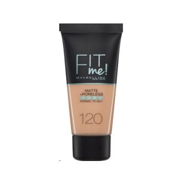Maybelline Fit Me Matte & Poreless Foundation - 120 Classic Ivory - 1450 - 599.101125.00.000