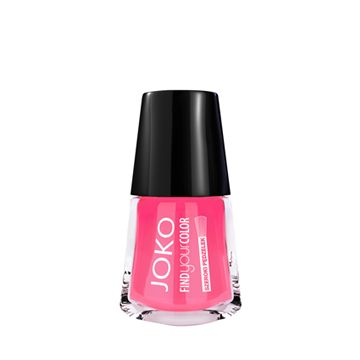 JOKO Find Your Color Nail Polish - 120 Crazy Pink - NJLA40041-B