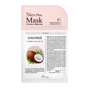 Ariul 7days Plus Coconut Balancing Mask 3g - 8809301763346