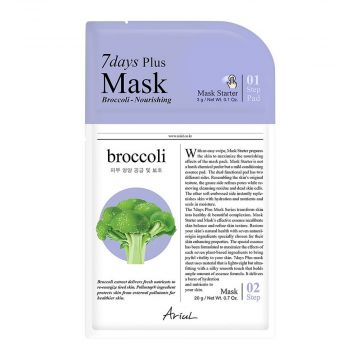 Ariul 7days Plus Broccoli Nourishing Mask 3g - 8809301763339