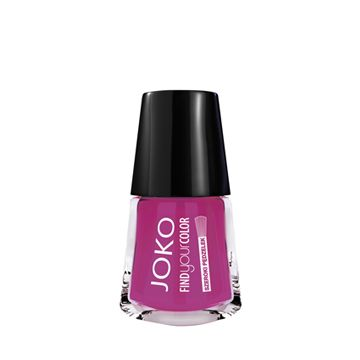 JOKO Find Your Color Nail Polish - 123 Born To Be Fuchsia - NJLA40047-B