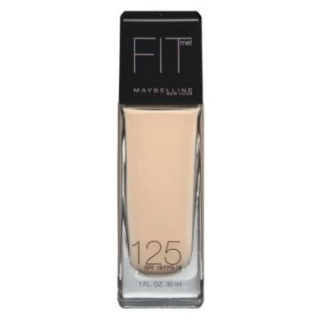 Maybelline FIT ME Foundation Dewy+Smooth -125 Nude Beige - 1118