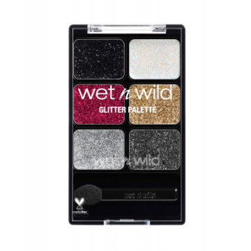 WET N WILD COLOR ICON GLITTER PALETTE - 12915 HEAVY METALS