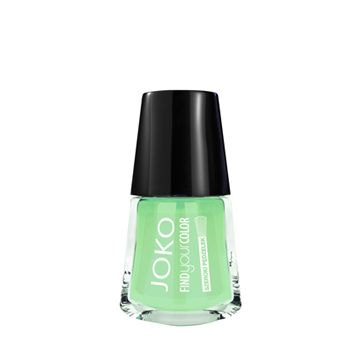 JOKO Find Your Color Nail Polish - 133 Gunpower With Mint - NJLA40067-B