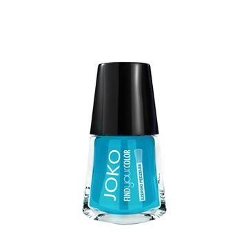 JOKO Find Your Color Nail Polish - 136 Berbers Blue - NJLA40073-B