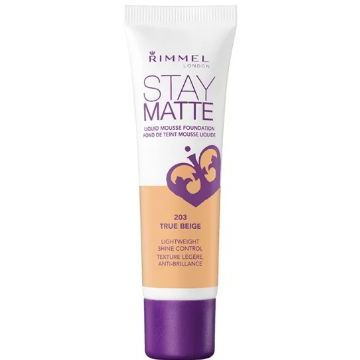 Rimmel Stay Matt Foundation New Launch - Stay Matt - True Beige -  034-203
