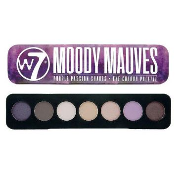 W7 Cosmetics Purple Passion Shades Eye Colour Palette - Moody Mauves