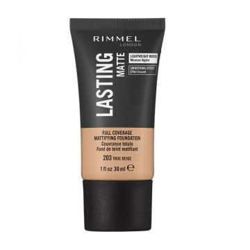Rimmel Lasting Finish Matte Foundation - 203 True Beige