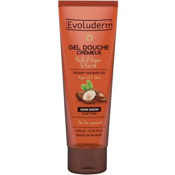 Evoluderm Shower Gel Argan & Shea Butter - 200ml