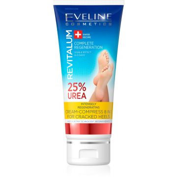 Eveline Cream-Compress 8in1 for Cracked Heels 25% Urea 100ml - 07-27-00001