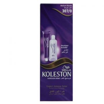 Wella Koleston Single 307/0 NE MEDIUM BLONDE
