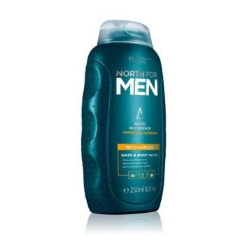 Oriflame North For Men Recharge Hair & Body Wash - 32011