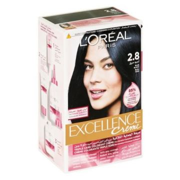L'Oreal Excellence Creme - 2.8 Blue Black - 0988 - 3600522831976