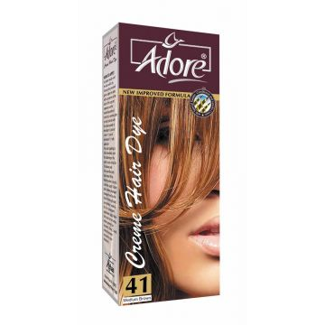 Adore Medium Brown Premium Hair Colour 4
