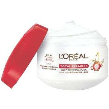 L'Oreal Paris Total Repair 5 Deep Repairing Mask 200ml - 0974 - 8901526101559