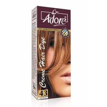 Adore Dark Brown Premium Hair Colour 3