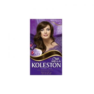 Wella Koleston Kit 4/3 Medium Golden Brown