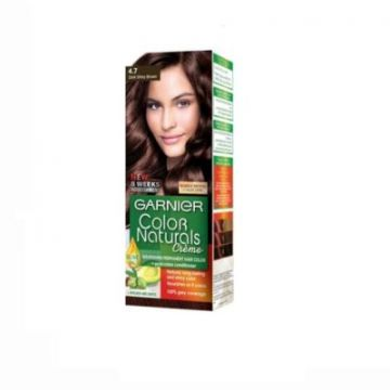 Garnier Color Naturals 4.7 Dark Shiny Brown - 0467 - 3610340640261