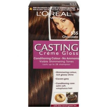 L'Oreal Casting Creme Gloss Hair Colour - 535 Chocolate - 3600521230329
