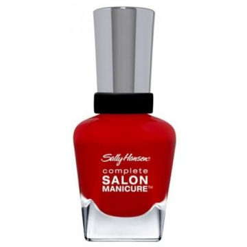 Sally Hansen Complete Salon Manicure Nail Polish -SM-550 All Fired Up