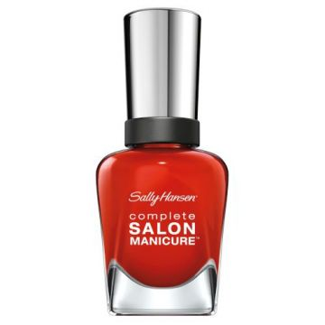 Sally Hansen Complete Salon Manicure Nail Polish -SM-554 New Flame