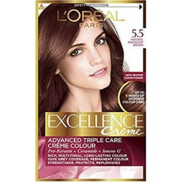 L`Oreal Excllence 5.5 Light Mahogany Brown