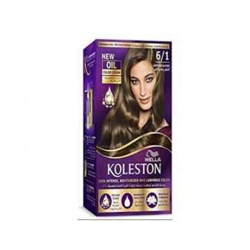Wella Koleston Kit 6/1 Dark Ash Blonde MENAP