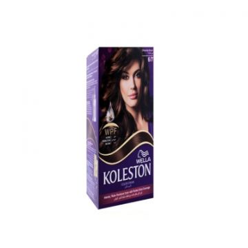 Wella Koleston Kit 6/7 CHOCOLATE BROWN MENAP