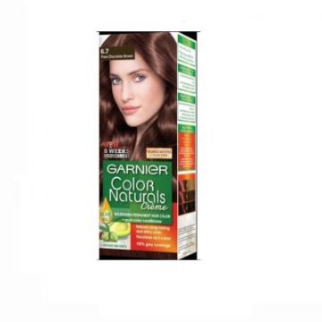 Garnier Color Naturals 6.7 Pure Chocolate Brown - 0468 - 3610340640360