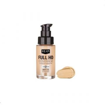 Hean Full HD Cover Liquid Foundation - 701 Ivory