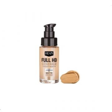 Hean Full HD Cover Liquid Foundation - 702 Nude