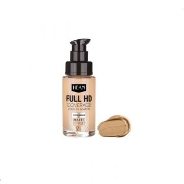 Hean Full HD Cover Liquid Foundation - 703 Natural