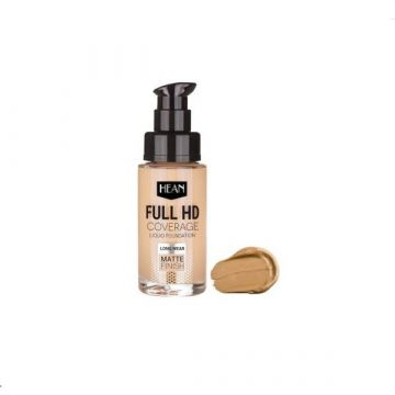 Hean Full HD Cover Liquid Foundation - 704 Tiramisu